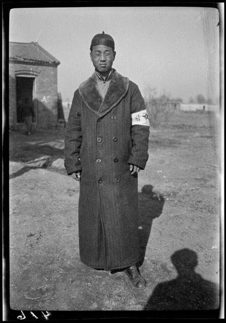 Mr. Chia. China, Tianjin, 1917-1919. (Photo by Sidney David Gamble)
