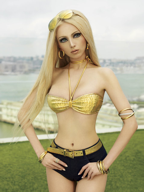 Valeria Lukyanova Gets Major Photo Shoot with VMagazine