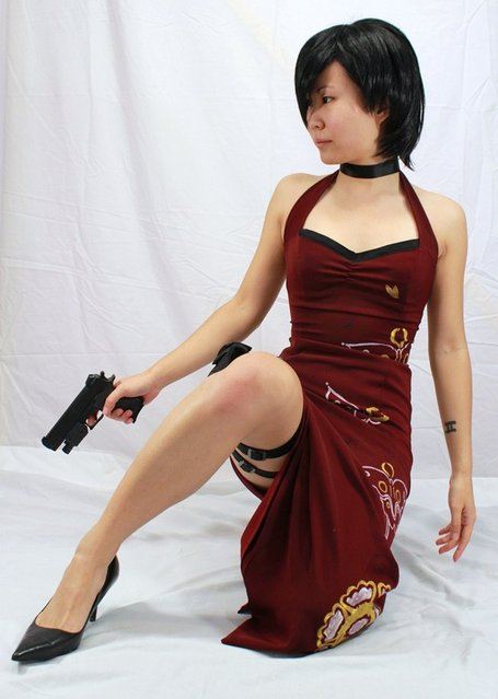 Ada Wong. Model: Izy. (Photo by Ross)