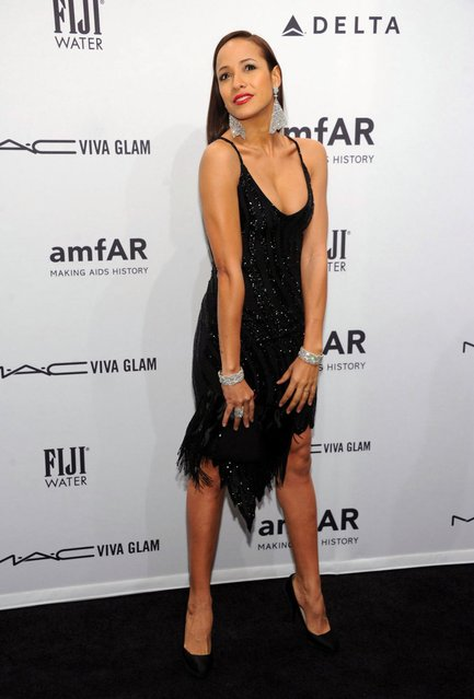 Actress Dania Ramirez attends the amfAR New York Gala to kick off Fall 2013 Fashion Week at Cipriani Wall Street on February 6, 2013 in New York City. (Photo by Dimitrios Kambouris/WireImage)