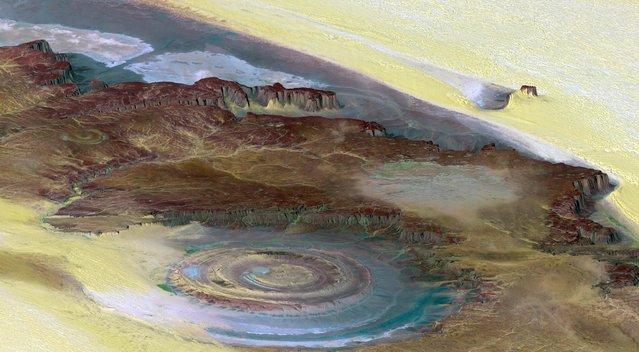 Eye Of The Sahara