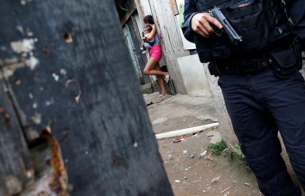Rio Police in City of God