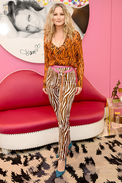 Jennifer Nettles attends Diane Von Furstenberg's InCharge Conversations 2020 Presented by Mastercard on March 06, 2020 in New York City. (Photo by Dimitrios Kambouris/Getty Images for DVF)