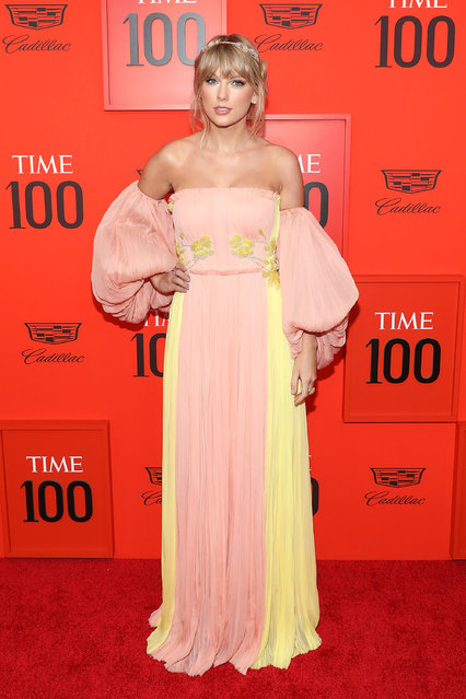 Taylor Swift attends the 2019 Time 100 Gala at Frederick P. Rose Hall, Jazz at Lincoln Center on April 23, 2019 in New York City. (Photo by Taylor Hill/FilmMagic)