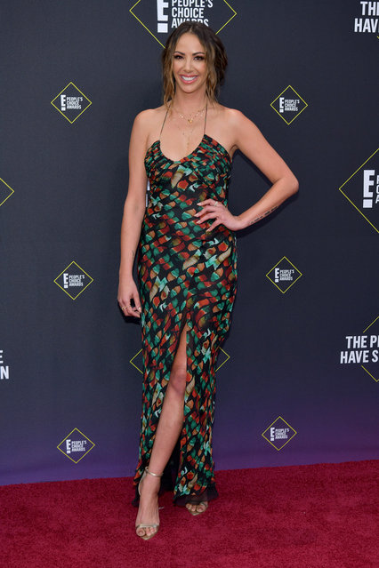 Kristen Doute attends the 2019 E! People's Choice Awards at Barker Hangar on November 10, 2019 in Santa Monica, California. (Photo by Rodin Eckenroth/WireImage)