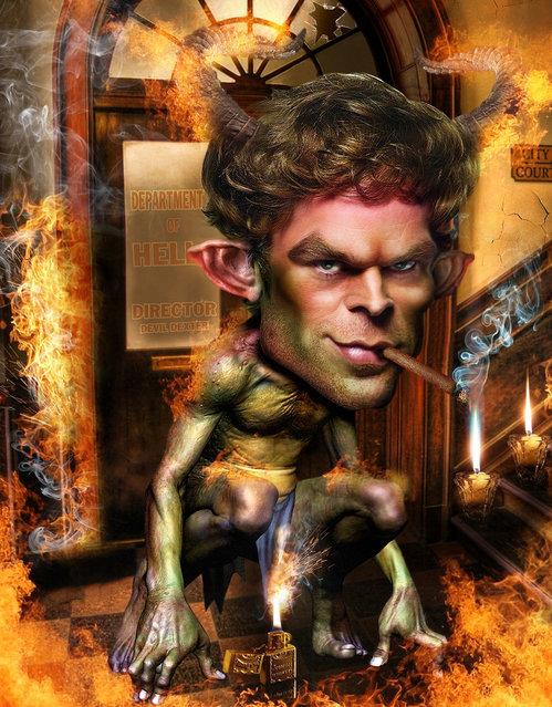 DEXTER D as DEVIL........