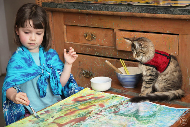 Iris Grace, The Five-Year-Old Autistic Art Prodigy