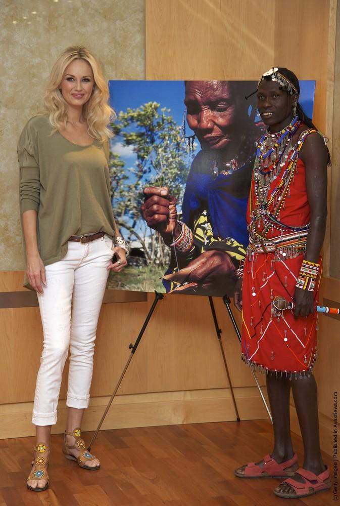 "Adriana Karembeu Presents ""Pikolino"" Shoes"