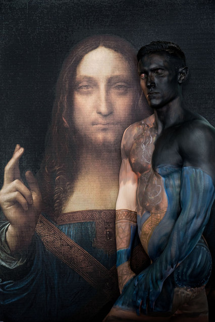 Titled 27,500,000 after the price paid Salvator Mundi. (Photo by Trina Merry/Caters News)