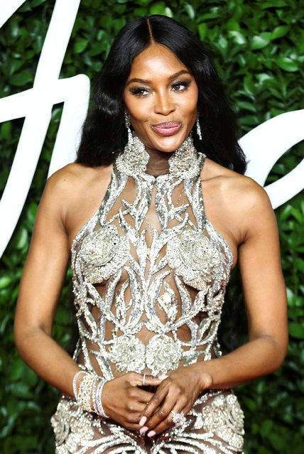 Model Naomi Campbell arrives at The Fashion Awards 2019 held at Royal Albert Hall on December 02, 2019 in London, England. (Photo by Lisi Niesner/Reuters)