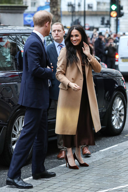 Prince Harry, Duke of Sussex and Meghan, Duchess of Sussex arrive at Canada House on January 07, 2020 in London, England. (Photo by Chris Jackson/Getty Images)