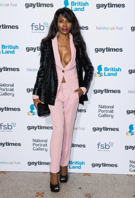 Sinitta attends the Gay Times Honours held at National Portrait Gallery on November 18, 2017 in London, England. (Photo by Jeff Spicer/Getty Images)