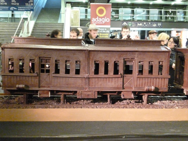 The Chocolate Train by Andrew Farrugia
