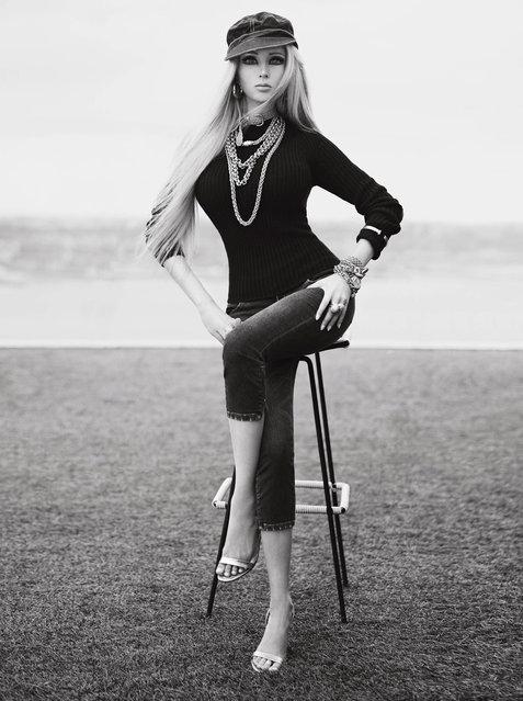 Valeria Lukyanova Gets Major Photo Shoot with VMagazine