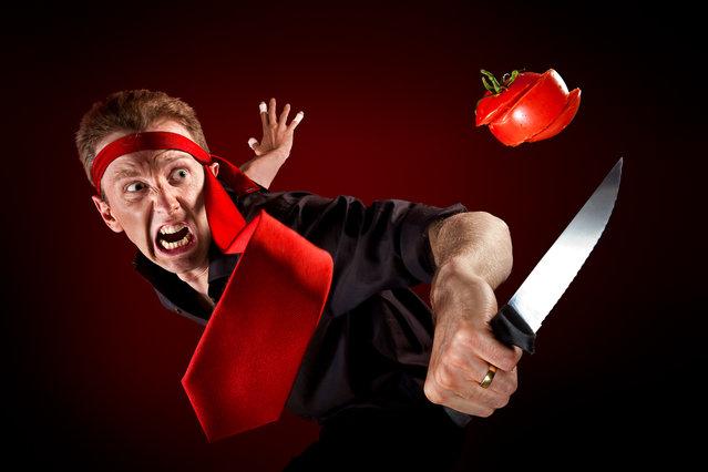 """Tomato Ninja"". (Christophe Kiciak)"