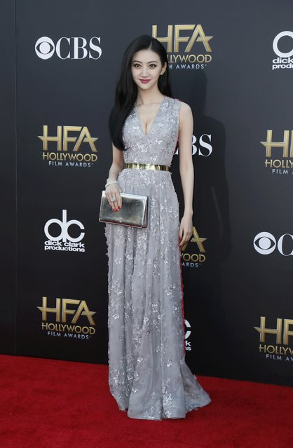 Actress Jing Tian arrives at the Hollywood Film Awards in Hollywood, California November 14, 2014. (Photo by Danny Moloshok/Reuters)