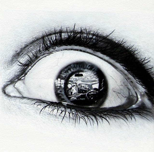 Photorealistic Paintings Of Eyes By Veri Apriyatno