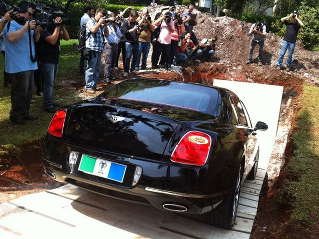 Brazilian Billionaire Buries His Bentley