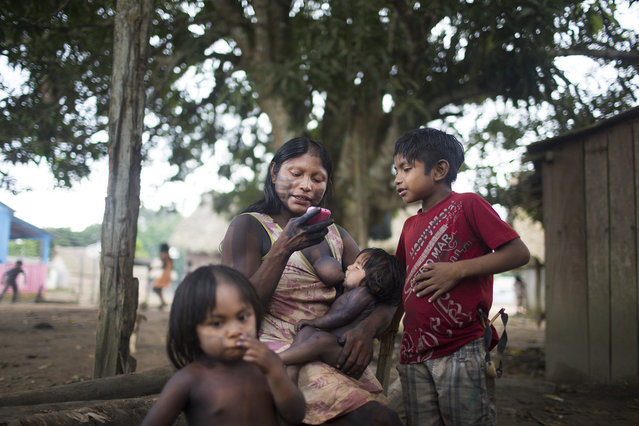 For the Xikrin people of the Xingu Region of Brazil's Amazon Rainforest, construction of the world's third largest dam a few miles away is a life-altering phenomenon. (Taylor Weidman)