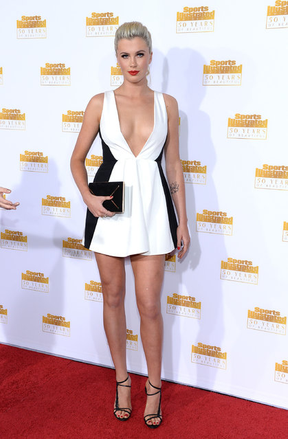 Model Ireland Baldwin attends NBC and Time Inc. celebrate the 50th anniversary of the Sports Illustrated Swimsuit Issue at Dolby Theatre on January 14, 2014 in Hollywood, California. (Photo by Dimitrios Kambouris/Getty Images)