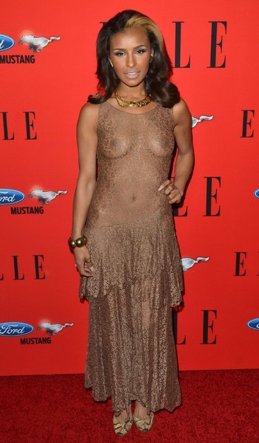 Melody Thornton attends the 3rd annual ELLE Women In Music event at Avalon on April 11, 2012 in Hollywood, California. (Photo by Startraks/Rex Features/Shutterstock)