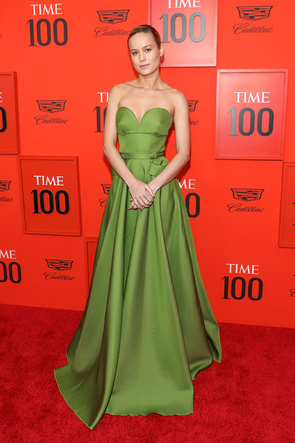 Brie Larson attends the 2019 Time 100 Gala at Frederick P. Rose Hall, Jazz at Lincoln Center on April 23, 2019 in New York City. (Photo by Taylor Hill/FilmMagic)