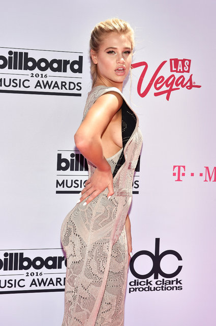 Model Meredith Mickelson attends the 2016 Billboard Music Awards at T-Mobile Arena on May 22, 2016 in Las Vegas, Nevada. (Photo by David Becker/Getty Images)