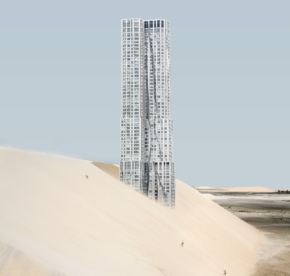 New York Skyscrapers in the Desert
