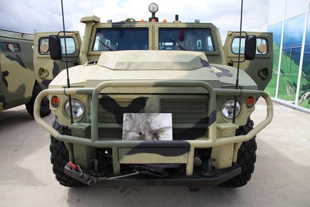 Special police vehicle SPM-2M on GAZ Tigr-M base