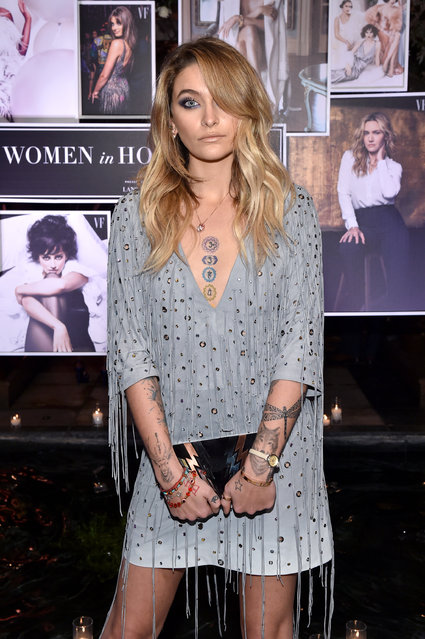 Paris Jackson attends Vanity Fair and Lancome Paris Toast Women in Hollywood, hosted by Radhika Jones and Ava DuVernay, on March 1, 2018 in West Hollywood, California. (Photo by John Shearer/Getty Images for Vanity Fair)