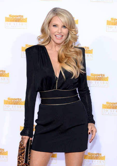 Model Christie Brinkley attends NBC and Time Inc. celebrate the 50th anniversary of the Sports Illustrated Swimsuit Issue at Dolby Theatre on January 14, 2014 in Hollywood, California. (Photo by Dimitrios Kambouris/Getty Images)