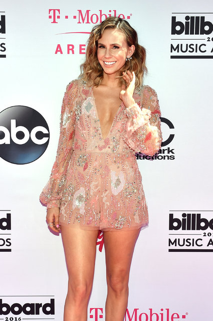 TV personality Keltie Knight attends the 2016 Billboard Music Awards at T-Mobile Arena on May 22, 2016 in Las Vegas, Nevada. (Photo by David Becker/Getty Images)