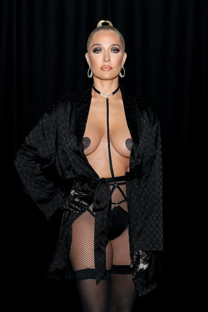 In this image released on October 1, Erika Jayne is seen backstage during Rihanna's Savage X Fenty Show Vol. 2 presented by Amazon Prime Video at the Los Angeles Convention Center in Los Angeles, California; and broadcast on October 2, 2020. (Photo by Jerritt Clark/Getty Images for Savage X Fenty Show Vol. 2 Presented by Amazon Prime Video)