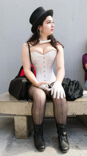 New York Comic Con/Anime Festival 2013. (Photo by Dan Alcalde)
