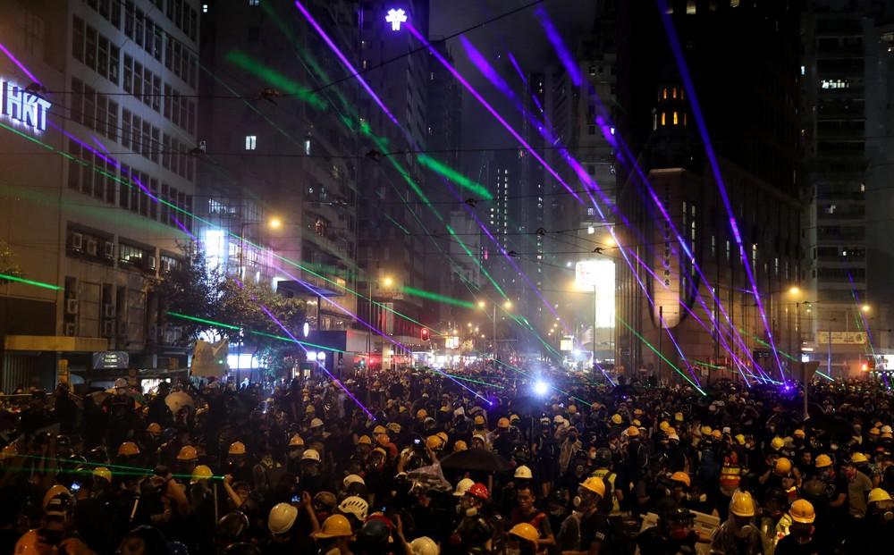Hong Kong in Flames