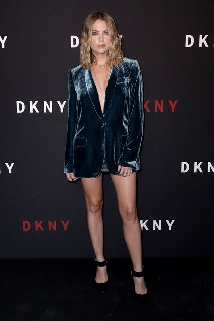 Ashley Benson attends as DKNY turns 30 with special live performances by Halsey and The Martinez Brothers at St. Ann's Warehouse on September 09, 2019 in New York City. (Photo by John Parra/Getty Images for DKNY)