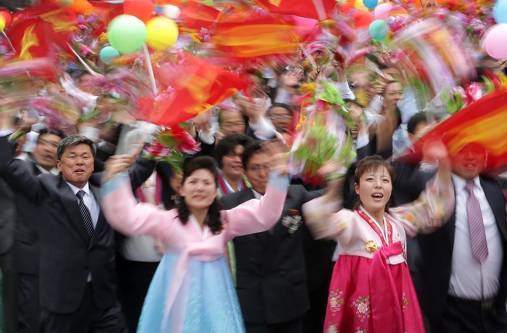 Mass Rally in North Korea