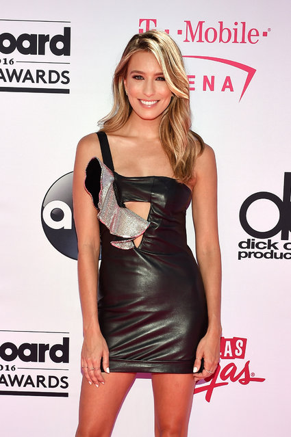 TV personality Renee Bargh attends the 2016 Billboard Music Awards at T-Mobile Arena on May 22, 2016 in Las Vegas, Nevada. (Photo by David Becker/Getty Images)