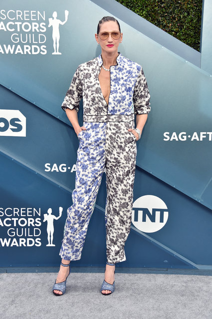 Jenna Lyons attends the 26th Annual Screen ActorsGuild Awards at The Shrine Auditorium on January 19, 2020 in Los Angeles, California. (Photo by Gregg DeGuire/Getty Images for Turner)