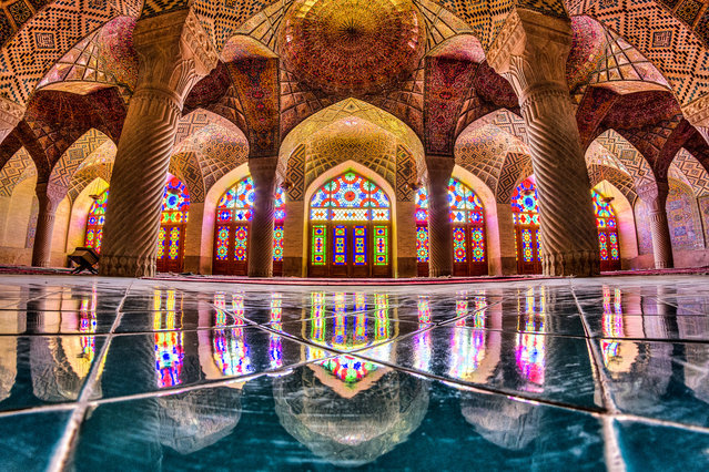 Nasir al-Mulk or Pink mosque, Shiraz. (Photo by Mohammad Reza Domiri Ganj)