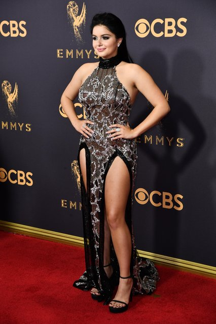 Actor Ariel Winter attends the 69th Annual Primetime Emmy Awards at Microsoft Theater on September 17, 2017 in Los Angeles, California. (Photo by Rob Latour/Variety/Rex Features/Shutterstock)