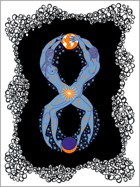 Romain de Tirtoff (Erte) – The Number Eight