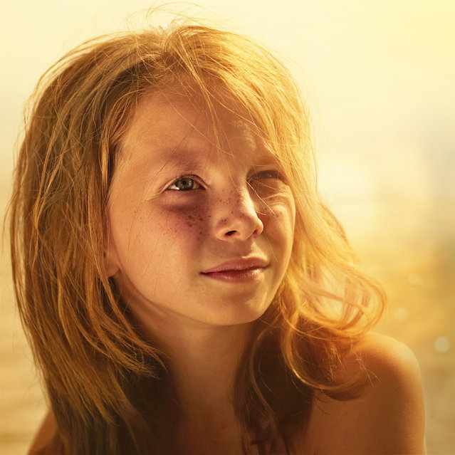 """Freckle"". (Photo and caption by Vladimir Serov)"