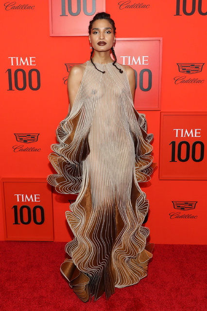 Indya Moore attends the 2019 Time 100 Gala at Frederick P. Rose Hall, Jazz at Lincoln Center on April 23, 2019 in New York City. (Photo by Taylor Hill/FilmMagic)