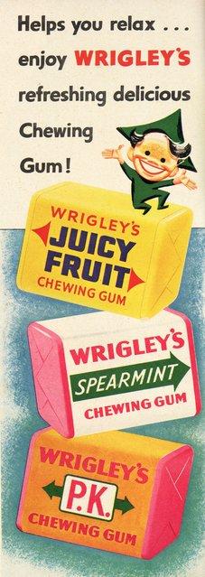 Chew Wrigleys