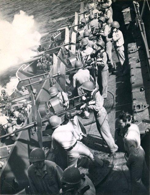 Port Jap trap in action