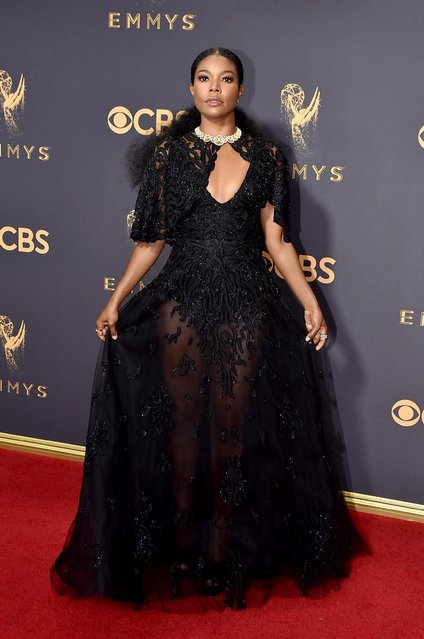 Actor Gabrielle Union attends the 69th Annual Primetime Emmy Awards at Microsoft Theater on September 17, 2017 in Los Angeles, California. (Photo by Jeff Kravitz/FilmMagic)