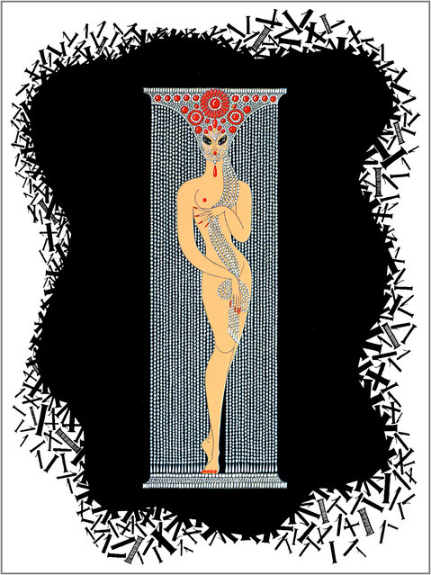 Romain de Tirtoff (Erte) – The Number One