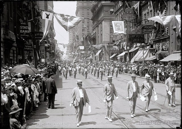 Baltimore, Elk Parade. Photographed by Harris & Ewing in 1916.
