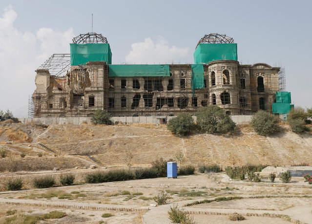 A view of the historic Darul Aman palace in Kabul, Afghanistan October 2, 2016. (Photo by Mohammad Ismail/Reuters)